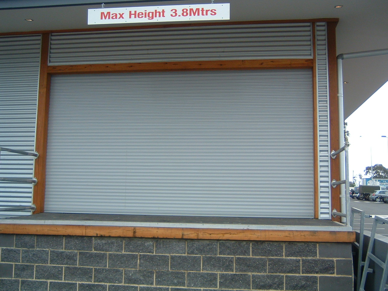 External window shutters rs5 rs6 security doors - Electric window shutters interior ...