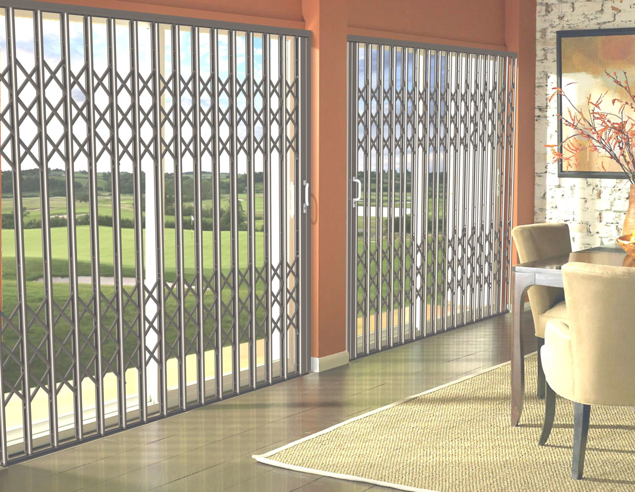 Aluminium Security Doors S09 Security Doors