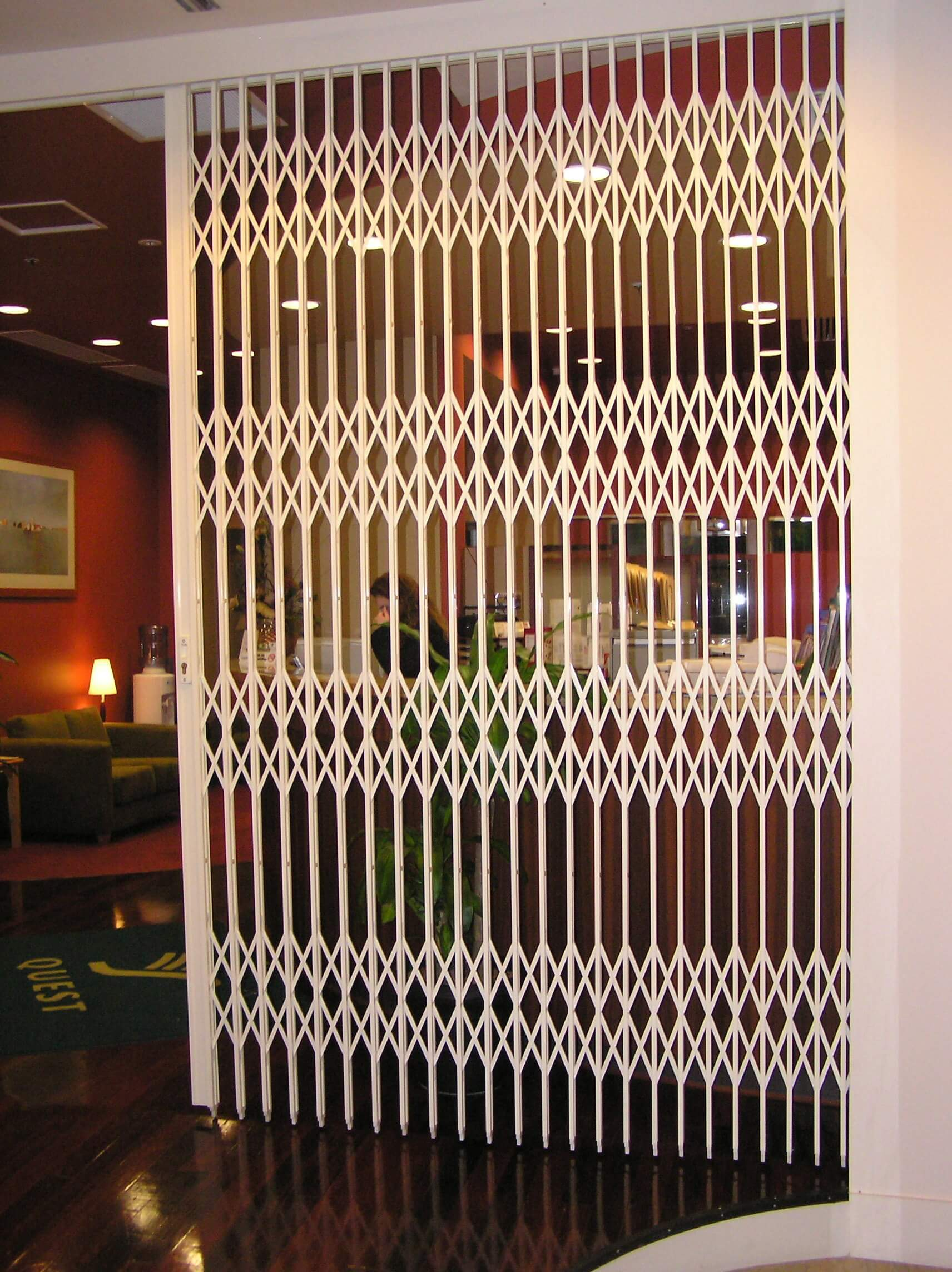 Concertina Door S05 1 Heavy Duty Security Door