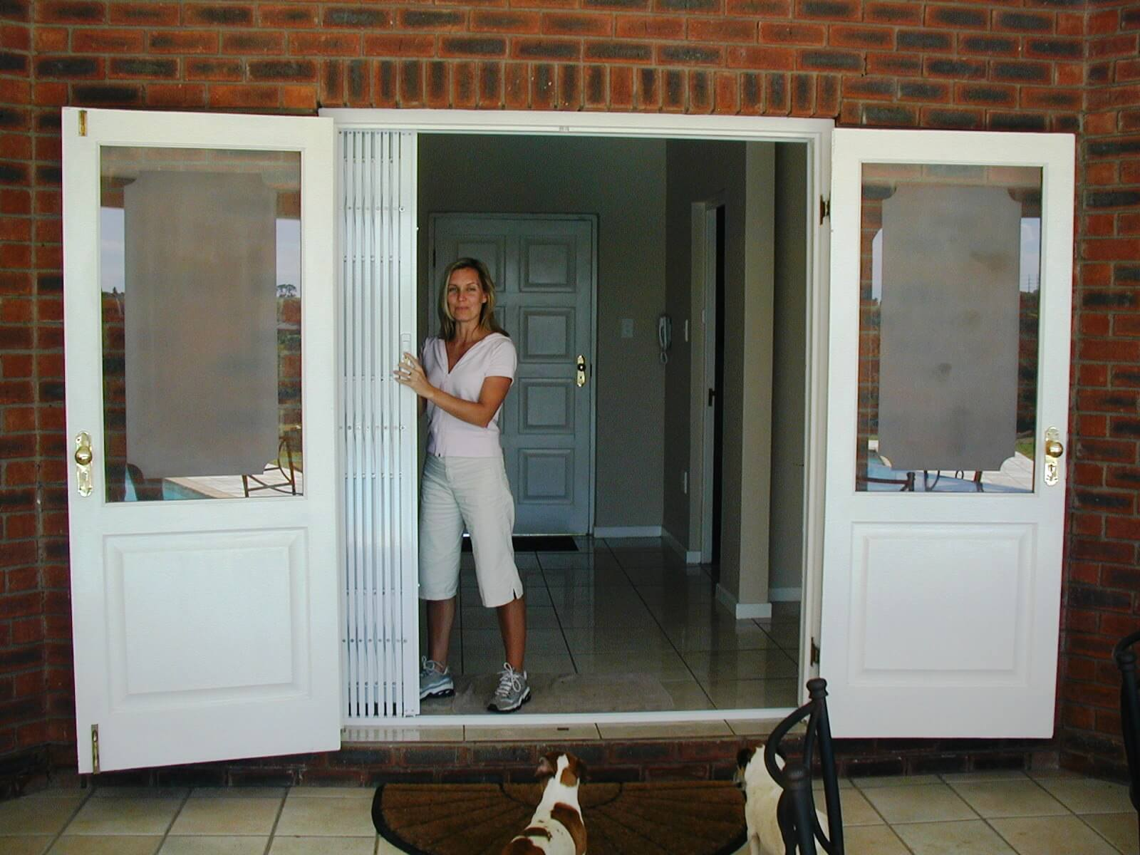 Bifold Doors S03 Concertina Steel Security Door