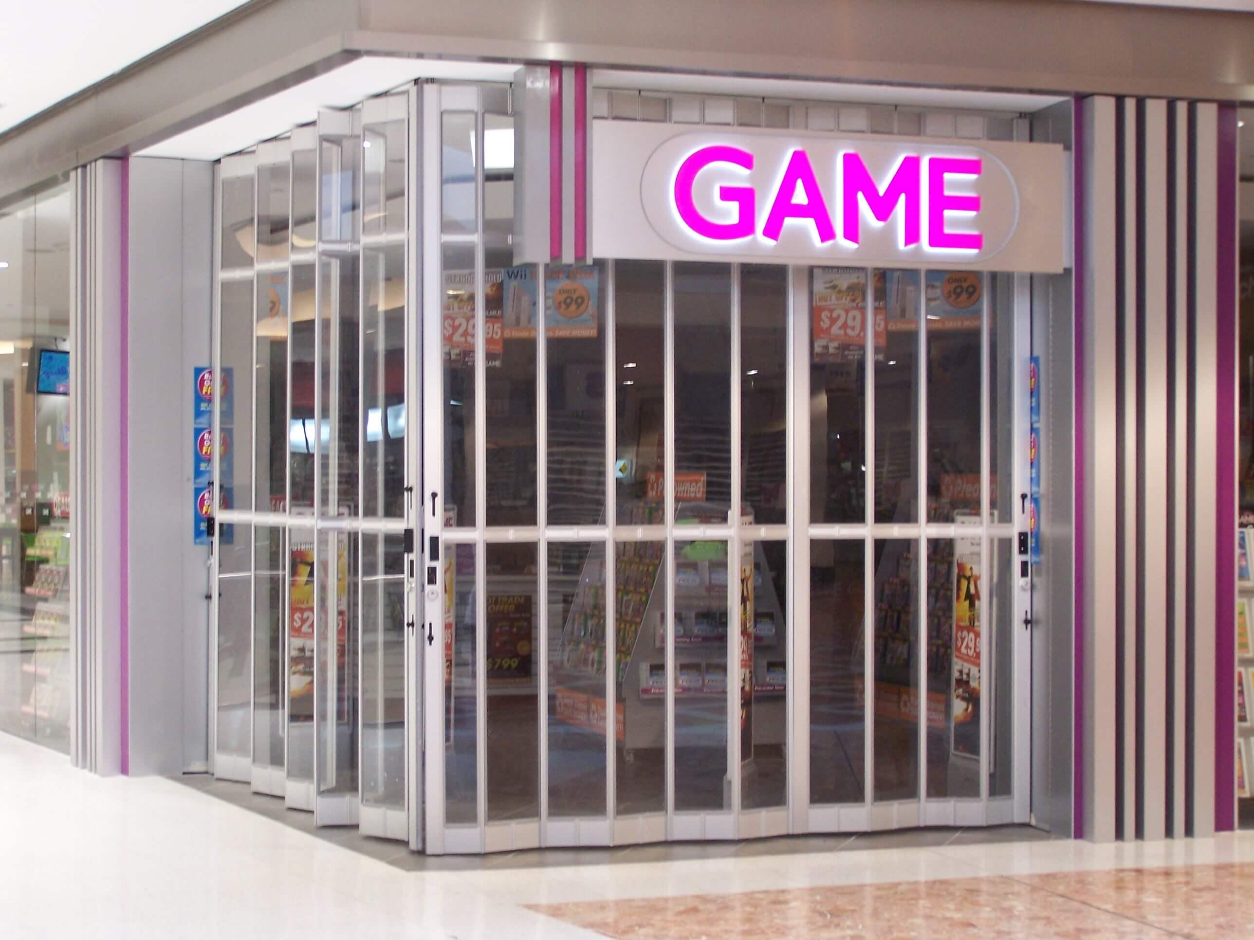 shop doors & FC1 - Folding Closures - Security Doors | Security Doors Melbourne ... pezcame.com